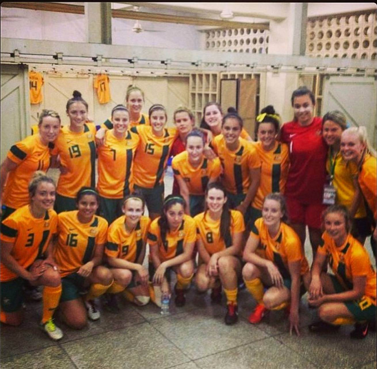Valiant Young Matildas fall at last hurdle
