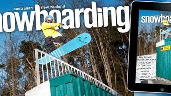 ANZ Snowboarding 2013 iPad App - Free Download