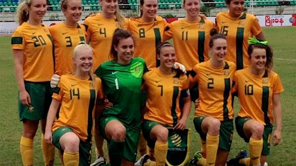 Young Matildas win through to the AFF Women's Championships final