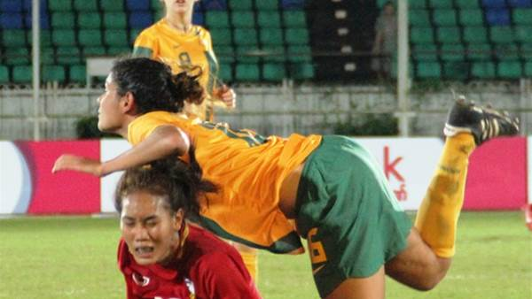 Young Matildas through to semi finals