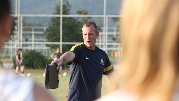 Spencer Prior and Young Matildas ready for World Cup Qualifiers