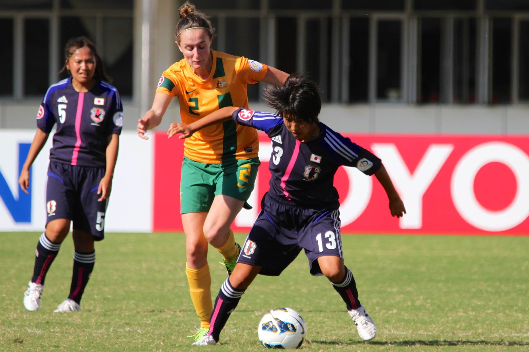 Defending champions Japan account for Young Matildas