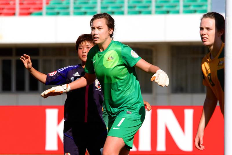 Mackenzie Arnold to miss first half of W-League