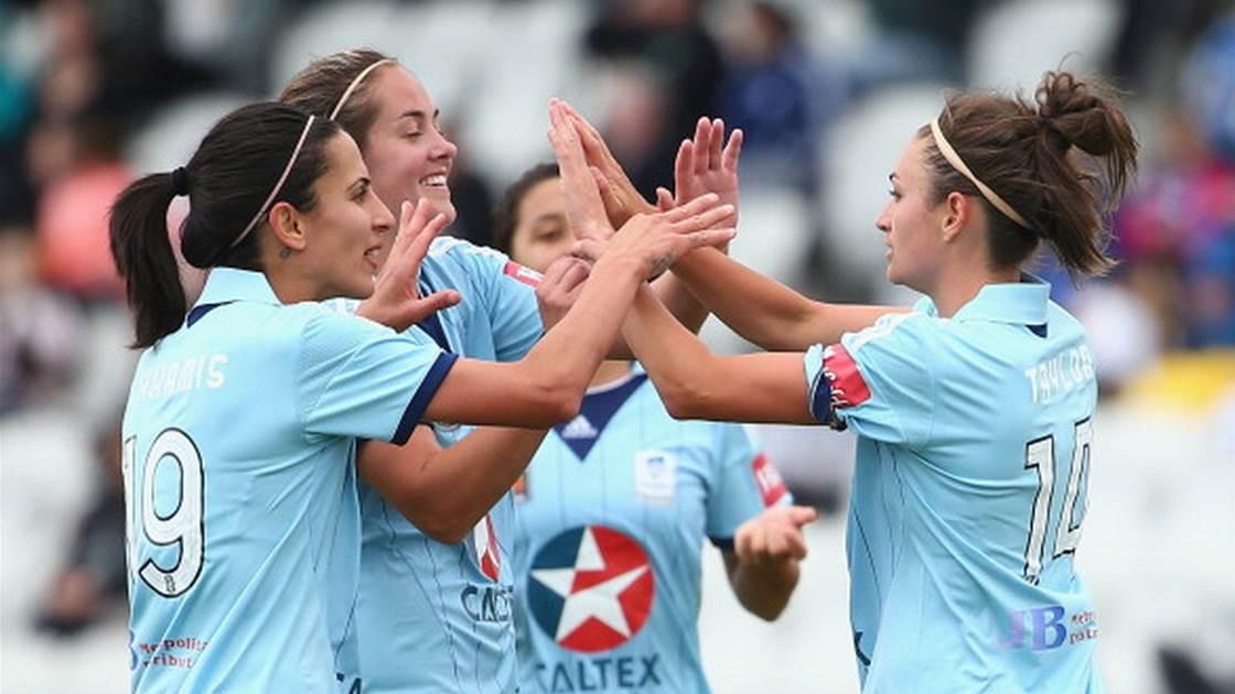 Sydney FC crush Victory
