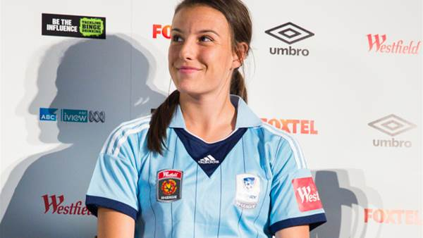 Chloe Logarzo and Sydney FC ready to back up from last season