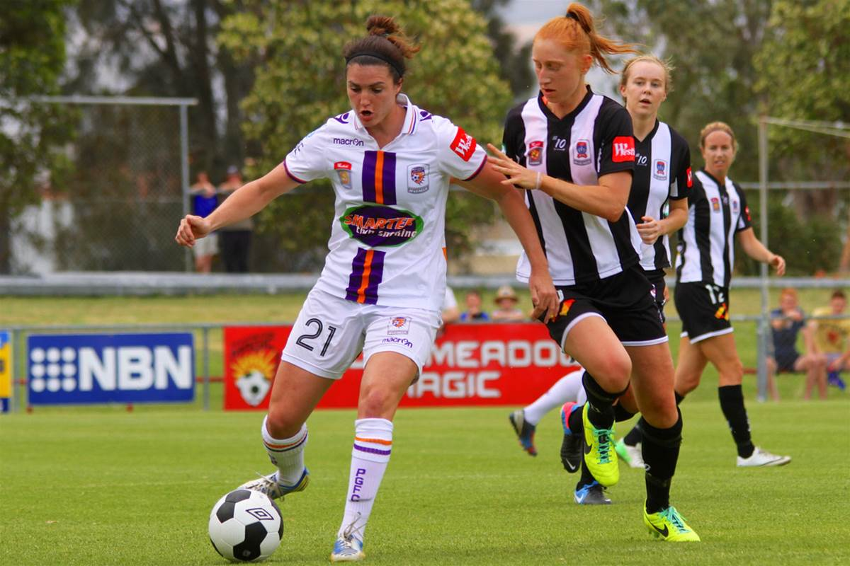 Perth Glory defeat a stubborn Newcastle Jets