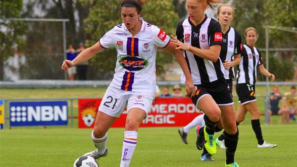 Perth Glory defeat a stubborn Newcastle Jets