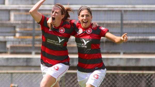 Wanderers rack up first win over Perth Glory