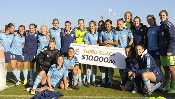 Sydney FC finish third in Mobcast Cup
