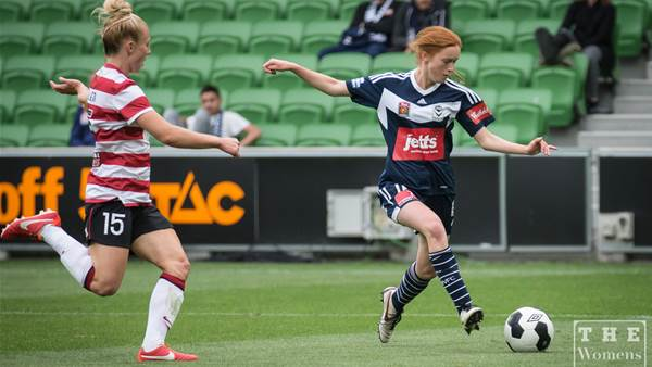 Melbourne Victory march on