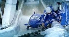 Worst bobsled crashes