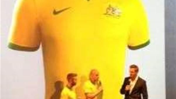Socceroos' new strip