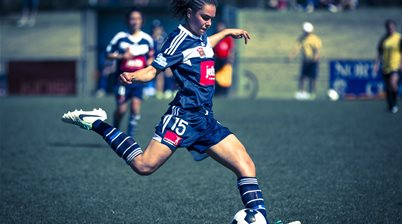 Melbourne Victory's defence standing tall