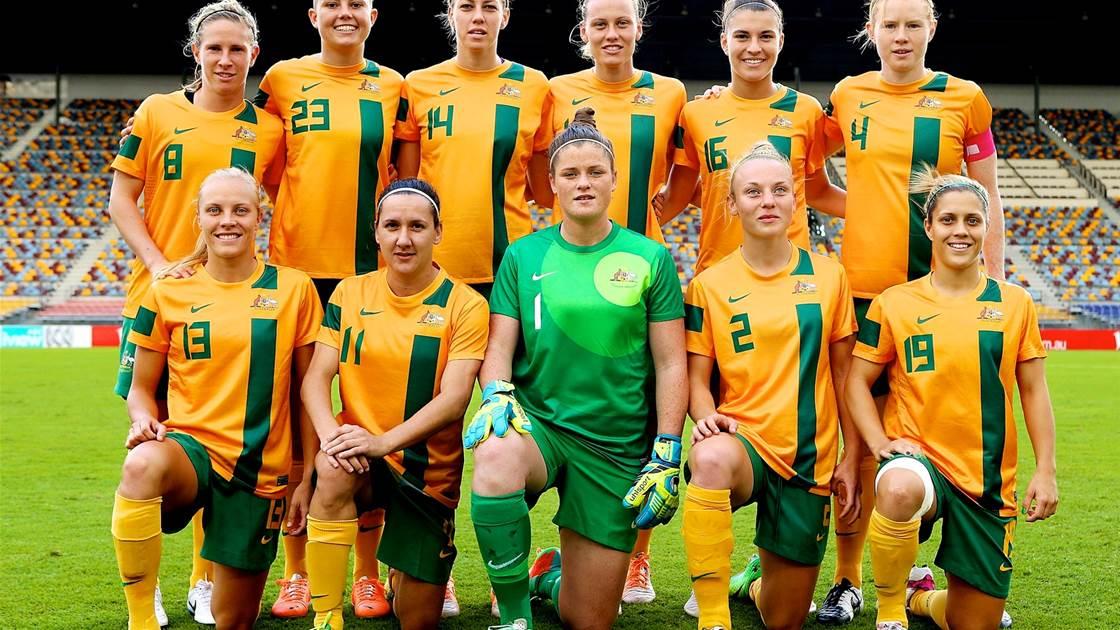 Australia shaded by Brazil