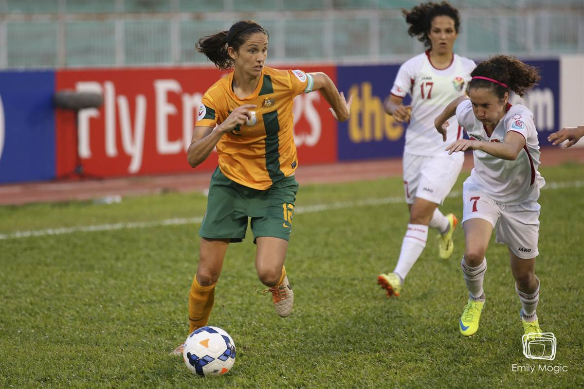 Matildas bank points in a challenging match