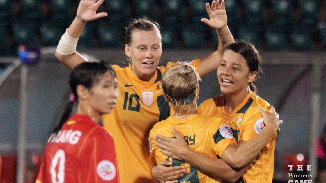 Matildas qualify for 2015 FIFA Women's World Cup