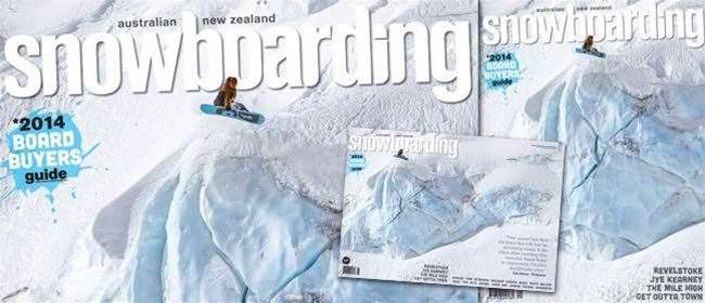 ANZ Snowboarding Mag #59 On Sale NOW!