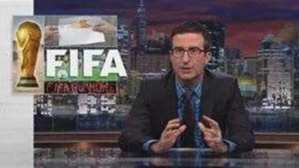 John Oliver attacks FIFA