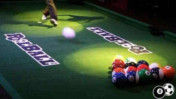 Soccer meets snooker