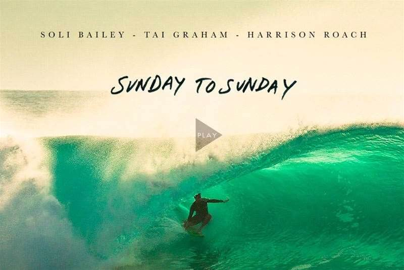 Sunday To Sunday - Soli Bailey, Tai Graham & Harrison Roach