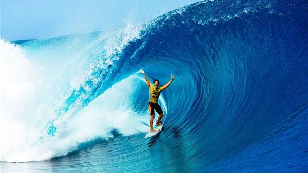 Gabriel Medina Wins The Billabong Pro Tahiti