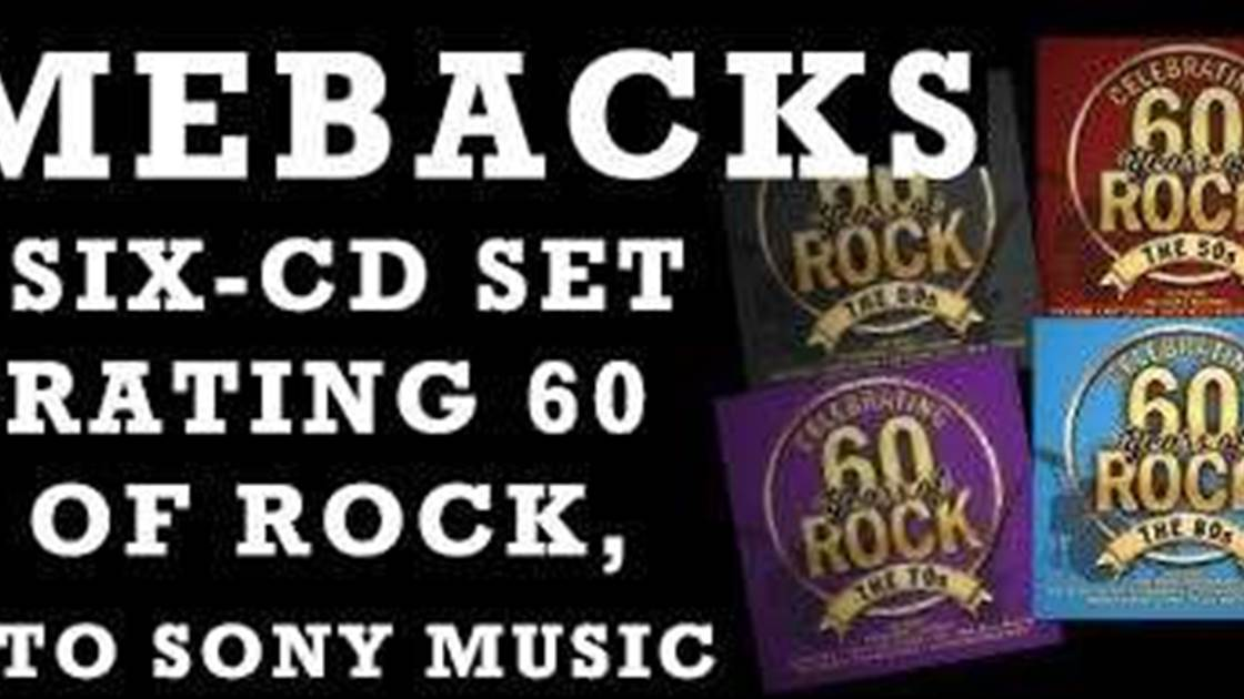 Comebacks - Win A Six-CD set celebrating 60 years of rock!