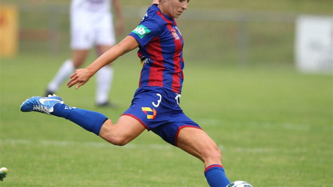 Hayley Crawford leads eight Newcastle Jets additions