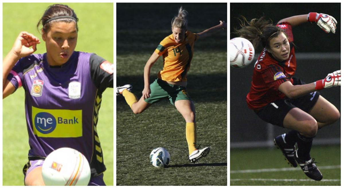 Perth Glory secure Matildas signings Kerr, Kennedy and Arnold