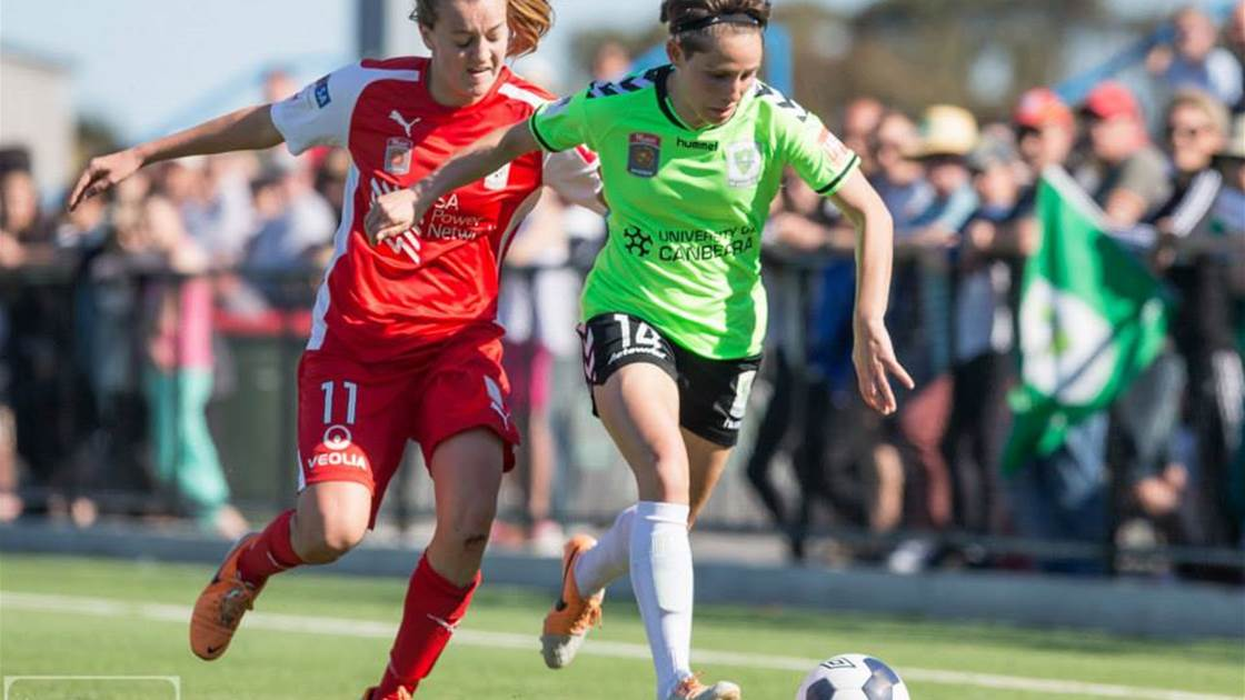 Canberra United prove too strong for Adelaide