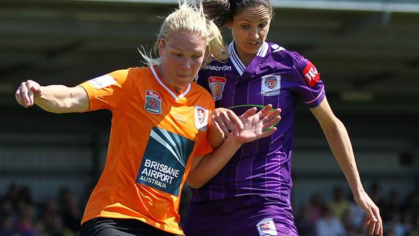 Gill fires Perth Glory to 2-1 win over Brisbane Roar