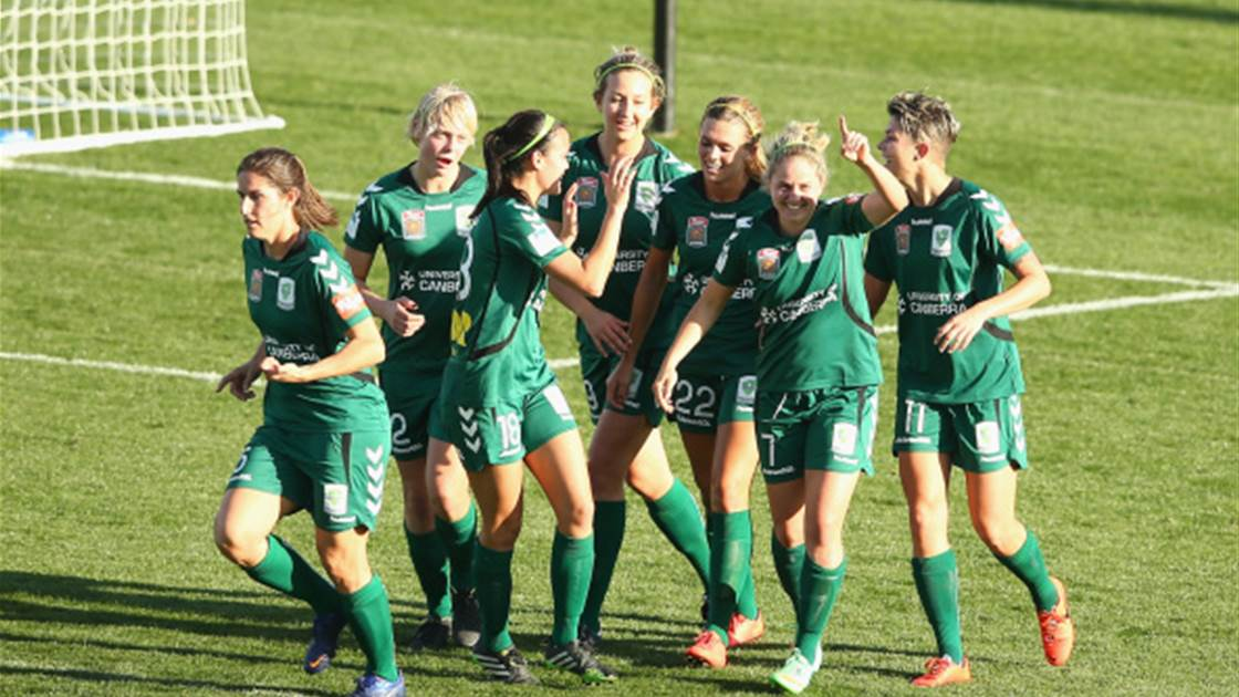Canberra United out gun Wanderers