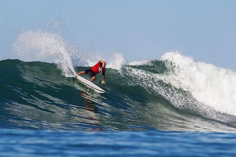 Jay 'Bottle' Thompson's Trestles Report Card