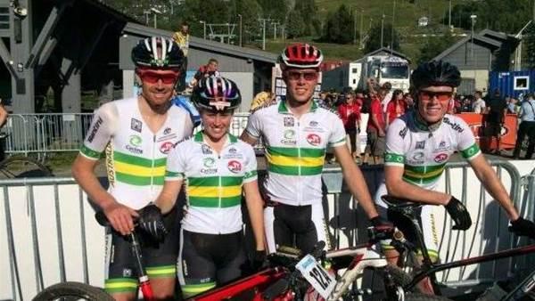 Aussie Juniors at World Champs