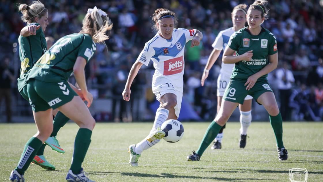Canberra United ambushed by Melbourne Victory