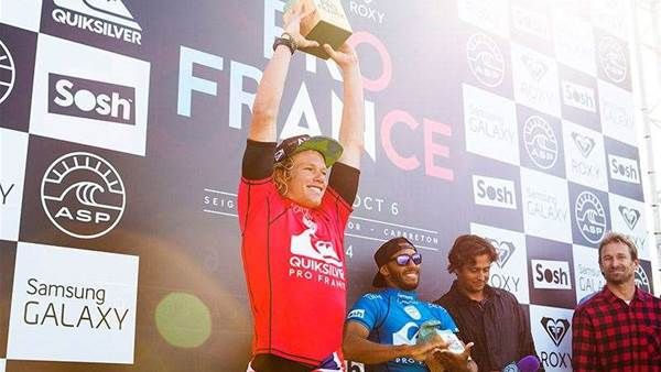 John John Florence Wins The Quiksilver Pro France