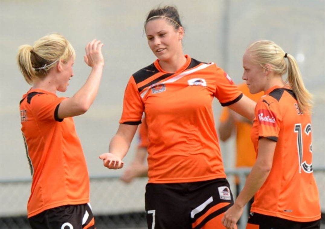 10 Questions: Brisbane Roar striker Emily Gielnik