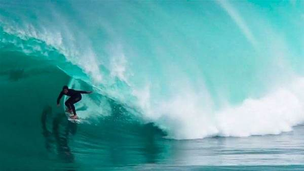 Watch Brett Burcher Get Ridiculously Barreled