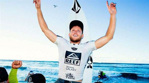 Dusty Payne Wins The Reef Hawaiian Pro, Haleiwa