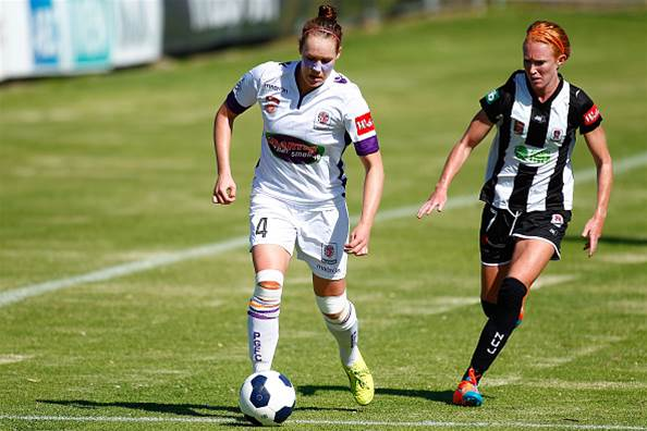 Perth Glory secure home final with 4-2 Newcastle Jets win