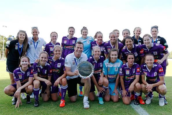 Perth Glory paint the premiership purple