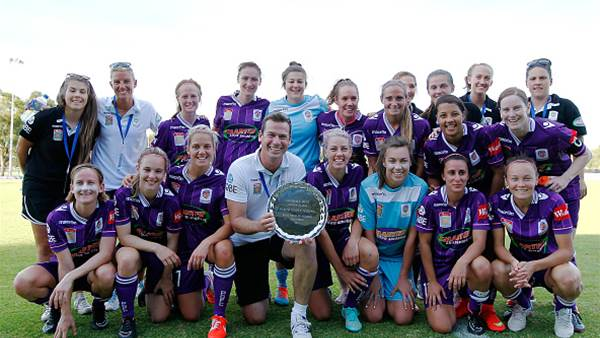 Perth Glory paint the premiership purple