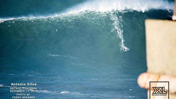 So just how big was Nazare on Thursday?