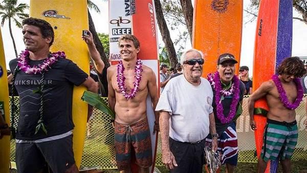 Eddie Opener Spreads Aloha
