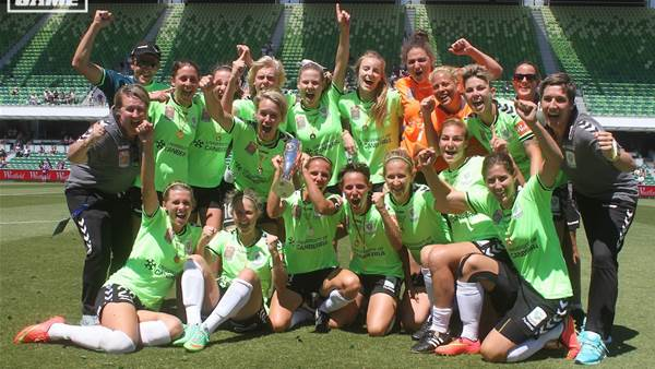 Canberra United claim second W-League championship