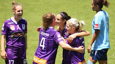 Perth Glory make the Grand Final in style