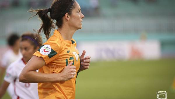 8. Kate Gill becomes Australian All-time leading goalscorer