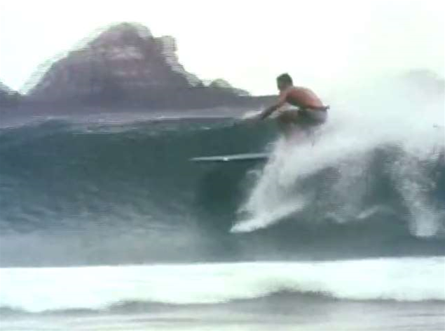 Surfing Byron Bay in the 60's