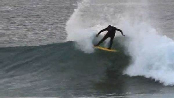 Tom Curren in Africa