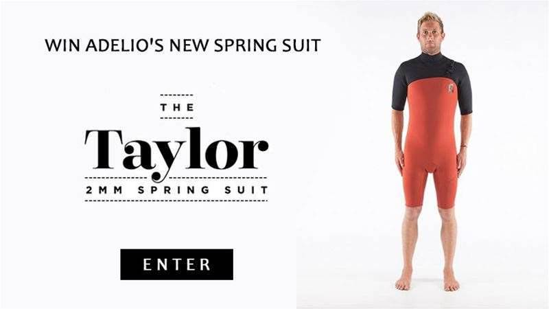 Did You Win Adelio's New Spring Suit 'The Taylor'?