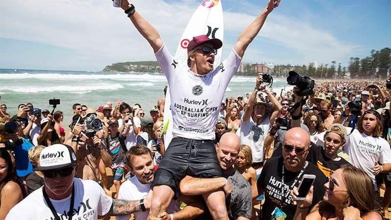 Kolohe Andino Wins The Australian Open Of Surfing